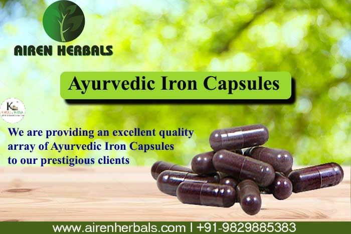 Airen Herbals Manufacture of herbal Capsules and Tablet