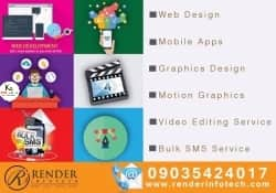 Render Infotech is a multi-disciplinary creative design and technology firm based in Bangalore India.